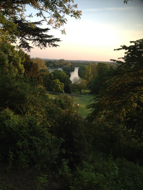 The view from Richmond Hill; the subject of many famous paintings.