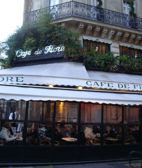 Lunch at Cafe de Flore