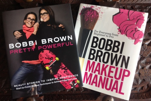 Bobbi's latest book 'Pretty Powerful' followed on from 'Makeup Manual'.
