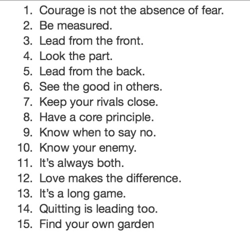 Nelson Mandela's 15 Life Lessons on Leadership.