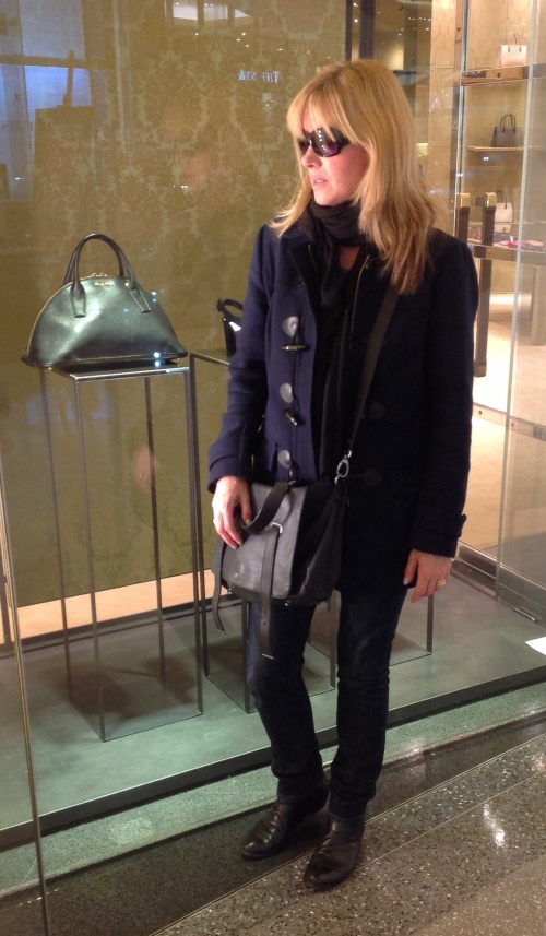 This coat from Banana Republic combines two key trends; Navy and the Duffle, in the build up to this winter.