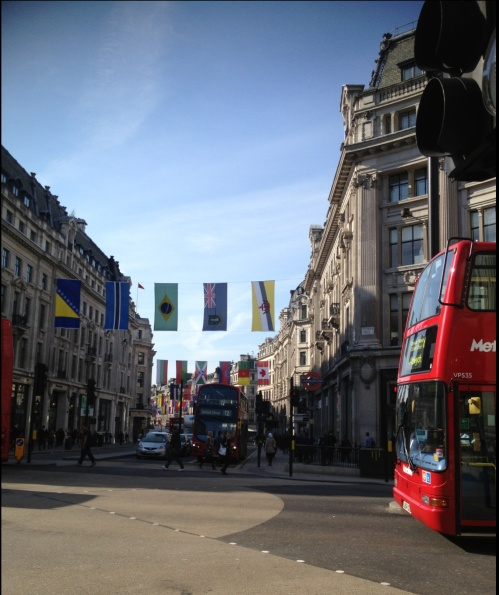 Oxford Circus: It all starts here...