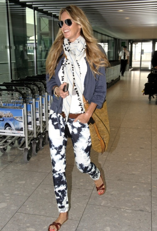 Elle Macpherson in Marant.  (photo - Rex Features).