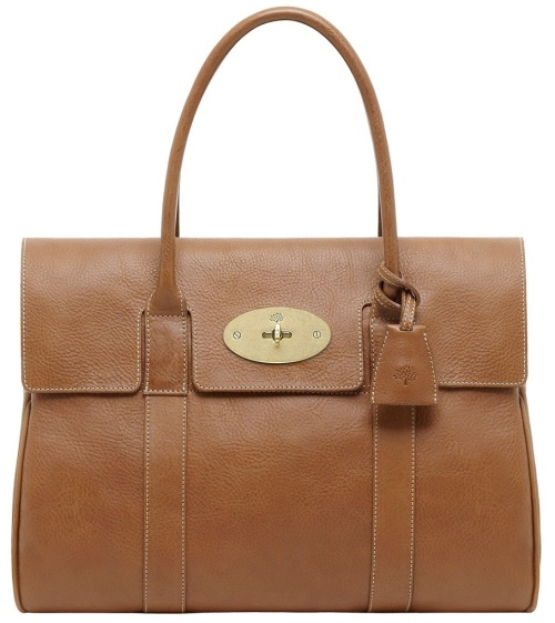 The Bayswater requires 12sq ft of leather. (photo -Mulberry)