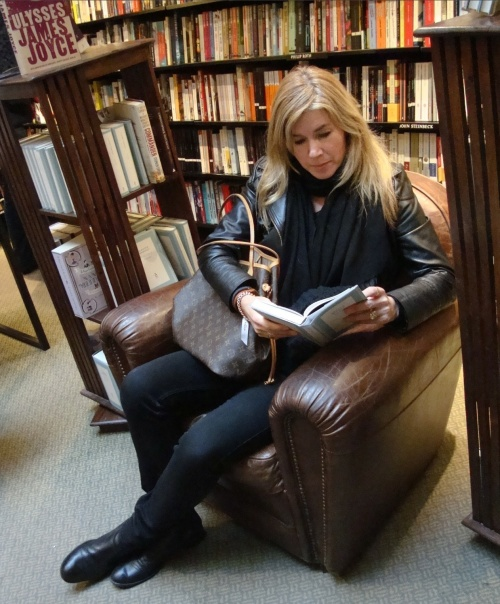 Reading, my greatest joy, can often keep me grounded for hours at a time. (photo -  worklondonstyle)