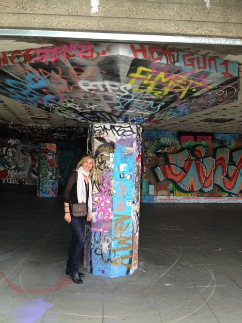 The Southbank Skateboard Park. (photo - worklondonstyle)