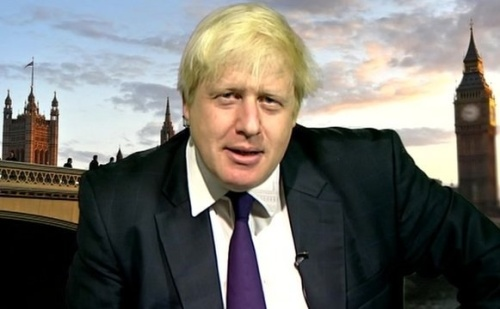 Boris - 'A real G' promoting London.