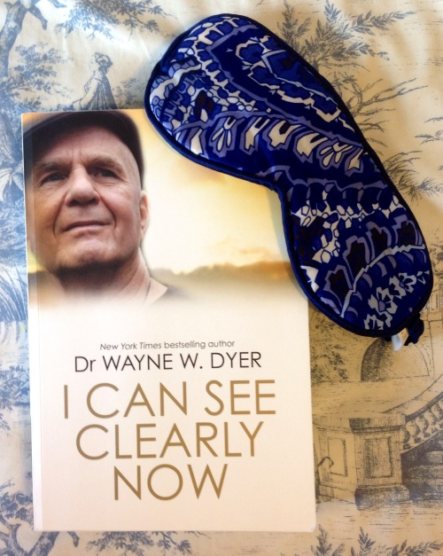 Dr Wayne Dyer's latest book 'I Can See Clearly Now' published in 2014 urges you to take off the mask and gain clear vision of your life's journey. (photo - worklondonstyle)