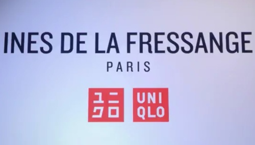Ines de la Fressange's collaboration with LIfeWear UNIQLO. (photo - Uniqlo)