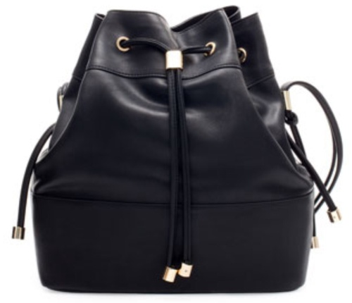 The 2014 high street version of the bucket bag from Zara. (photo - Zara)