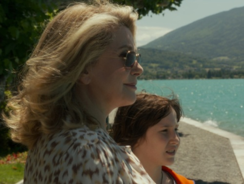 Catherine Deneuve and Nemo Schiffman in 'On My Way'. (photo - Cohen Media Group.)