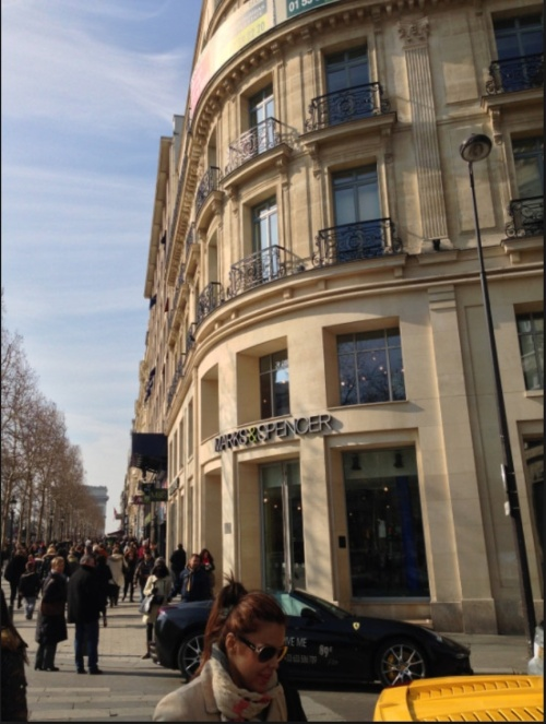 The Paris Flagship Store (photo - M&S)