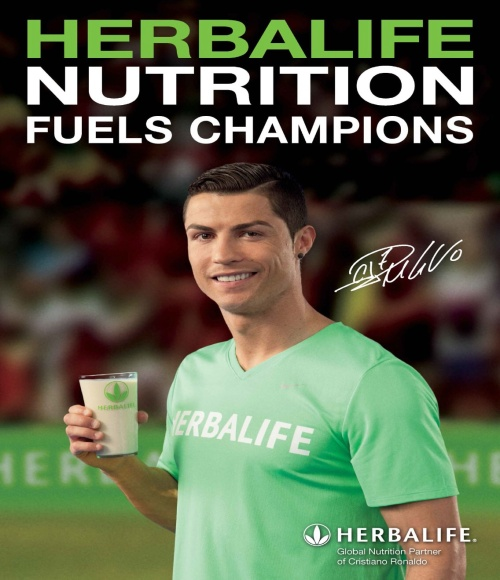 Christiano Renaldo (photo-Herbalife)