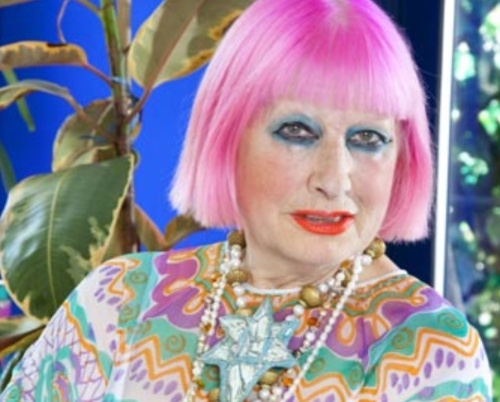 Dame Zandra Rhodes (photo - Katherine Rose)