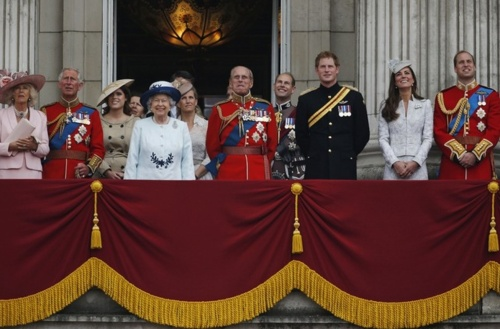The Queen's Birthday Celebrations. (photo - Lefteris Pitarakis/AP/Press Association Images)