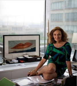 Diane in her office  situated in the famous meat packing district in New York.