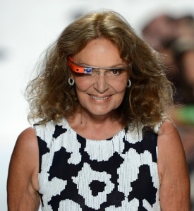 Diane Von Furstemberg for Google Glass.