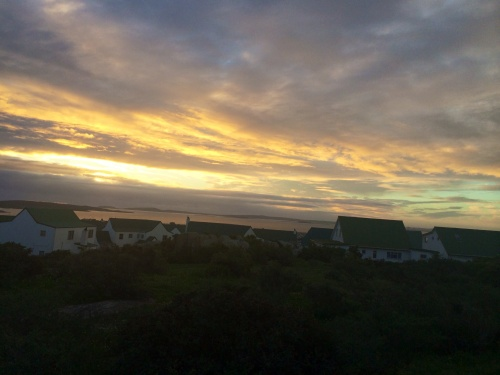 Sunset Run Langebaan (photo - worklondonstyle)
