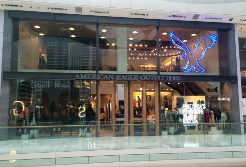 The first UK store at Westfield London (photo - worklondonstyle)